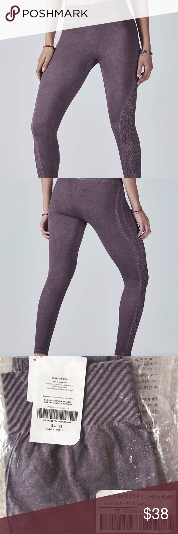 f011f6139f5 NWT FABLETICS Charlene Seamless Solid Tight Not my size. Brand new with  tags in packaging
