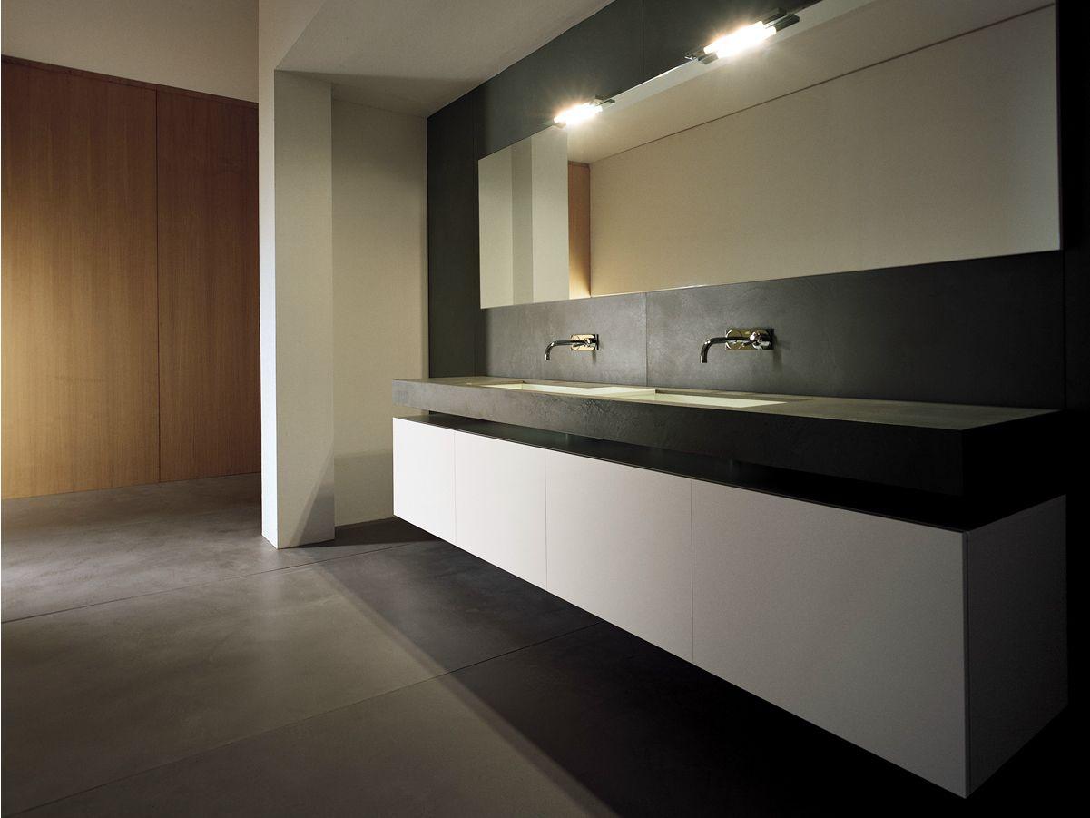 mobile lavabo doppio laccato con ante block2 collezione. Black Bedroom Furniture Sets. Home Design Ideas