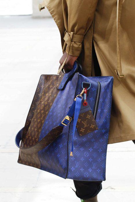 Louis Vuitton, Printemps Eté 2018, Paris, Menswear   Bags ... 9f6589205d5