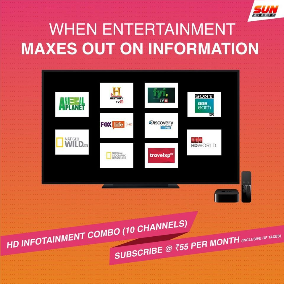 HD Combo in 2020 Dth, How to plan, Subscription offer