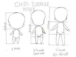 Chibi Tutorial Body Text How To Draw Manga Anime Chibi Drawings Anime Drawings Tutorials Chibi Body