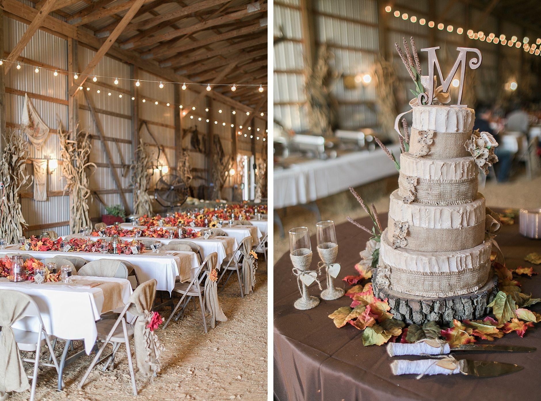 Katy & Bret, A Fall Barn Paducah Kentucky Wedding | Fall ...