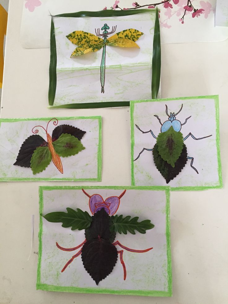 Fall Nature Craft is part of Nature kids - Make leaf insects, a fall nature craft to celebrate the season with your children!