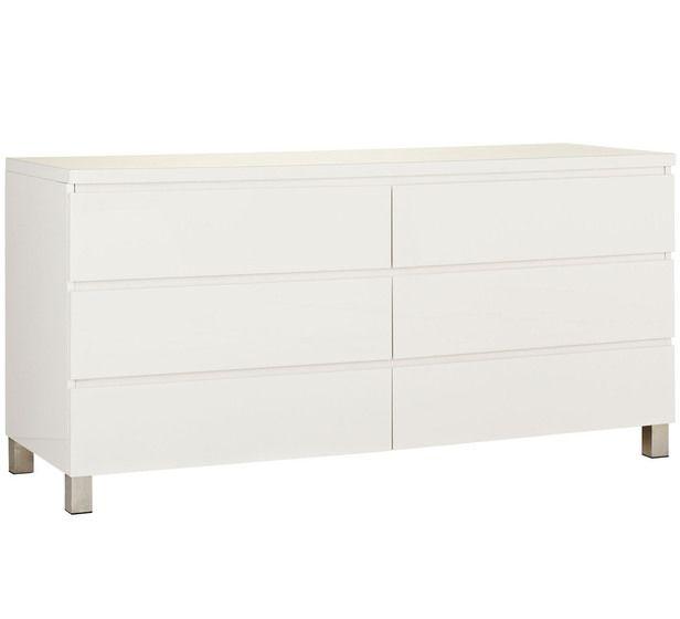 Vogue 6 Drawer Dresser Value Furniture Furniture Dresser