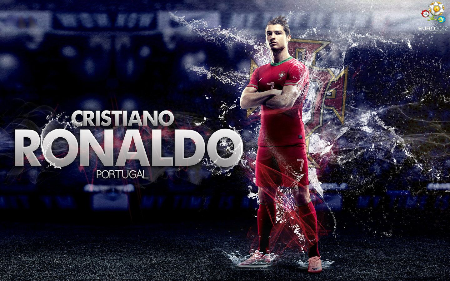 Cr7 wallpaper httpwallpaperscelebssocial20160102logo cristiano ronaldo portugal skills goalswc 2014 be readyvideo by teo cri voltagebd