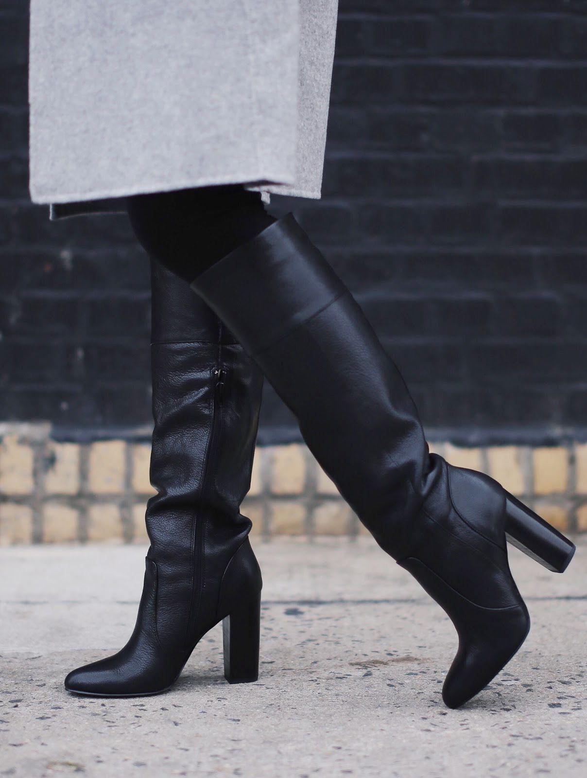 Alyssa Lenore keeps warm in style in