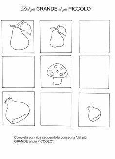 Risultati Immagini Per Schede Didattiche Bambini 3 Anni Da