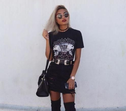 Fashion Inspiration: 20 Cool And Edgy Outfits For Going Out. #fashion #fashionblogger #fashiontrends #fashiontrends #fashionoutfits #fashionillustration #womensfashionclassic