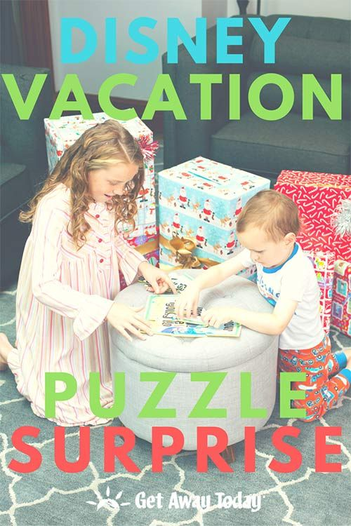 Free Disney Vacation Puzzle Surprise Printable Gift Ideas