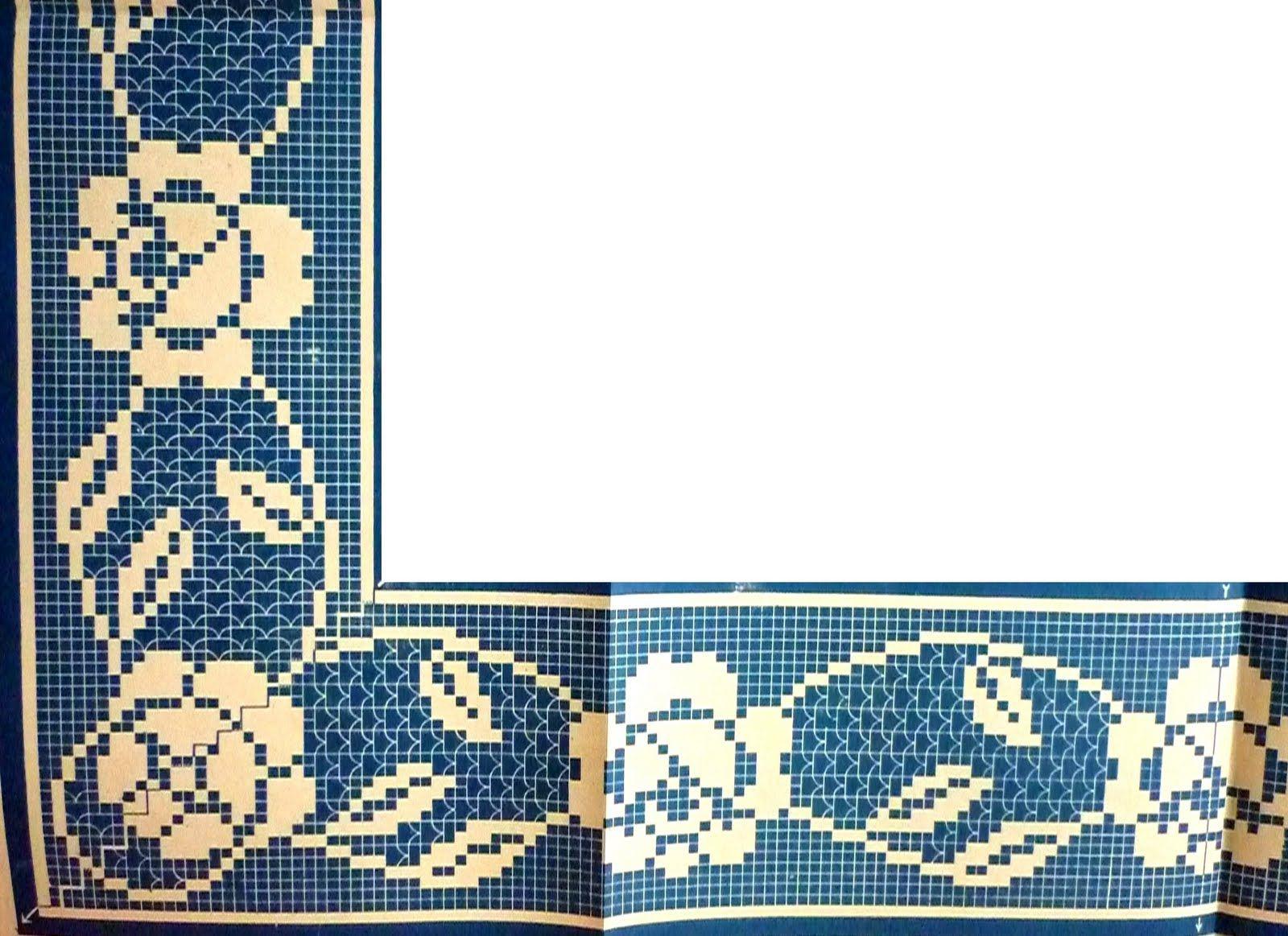 P1000262.JPG (1600×1163) | bordas de croche | Pinterest | Puntos de ...