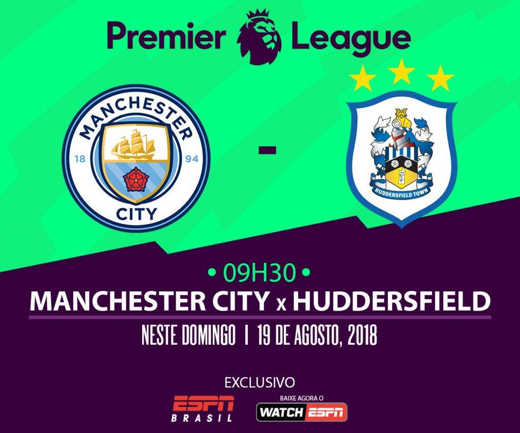 Como Assistir Manchester City X Huddersfield Em Tempo Real