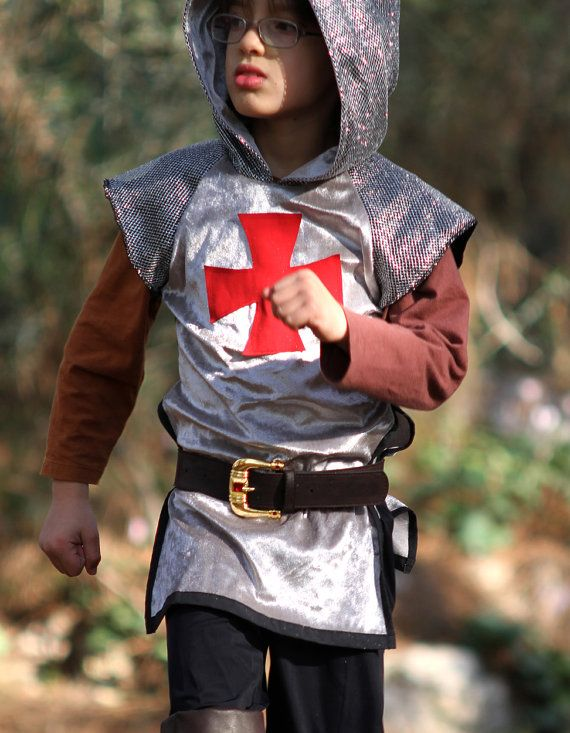 knight costume medieval outfit original gift by ...