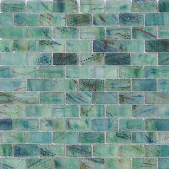 American Olean Glass Tile In Peaceful Sea Sea Glass