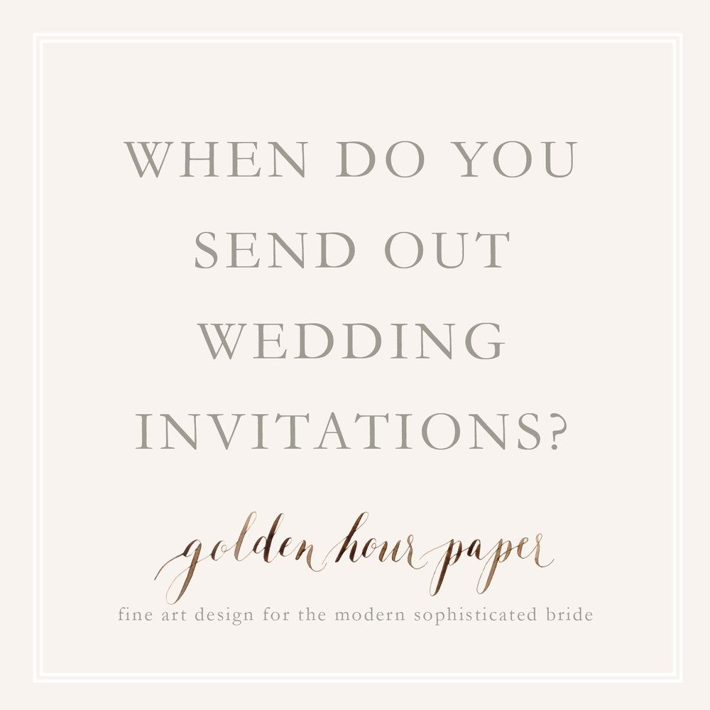 Do You Send Wedding Invitations To Bridal Party