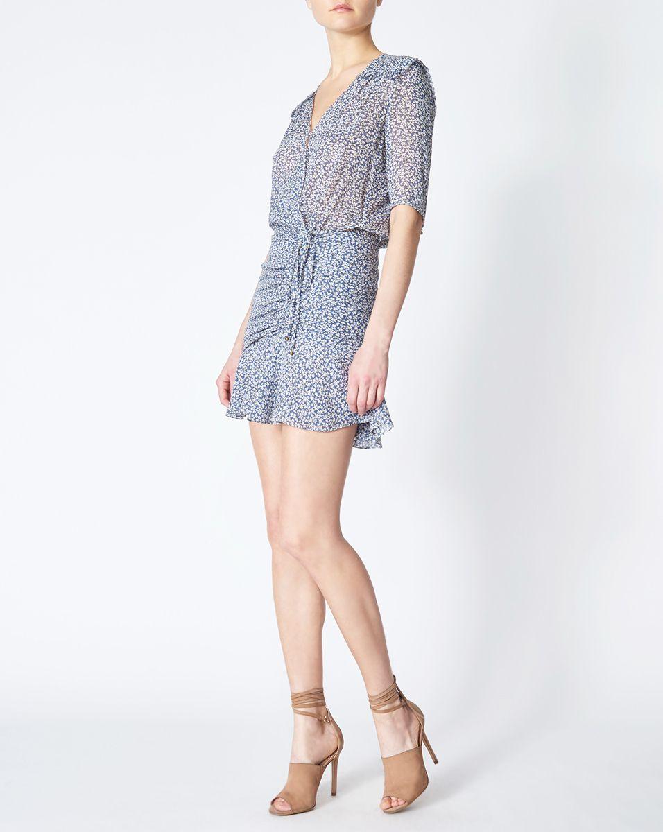 Veronica Beard, Dakota Flounce Dress Dresses, Flounced