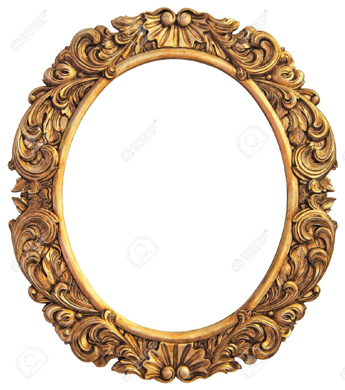 Antique Gilded Frame Isolated Gold Picture Frames Antique Frames Photo Frame Gallery