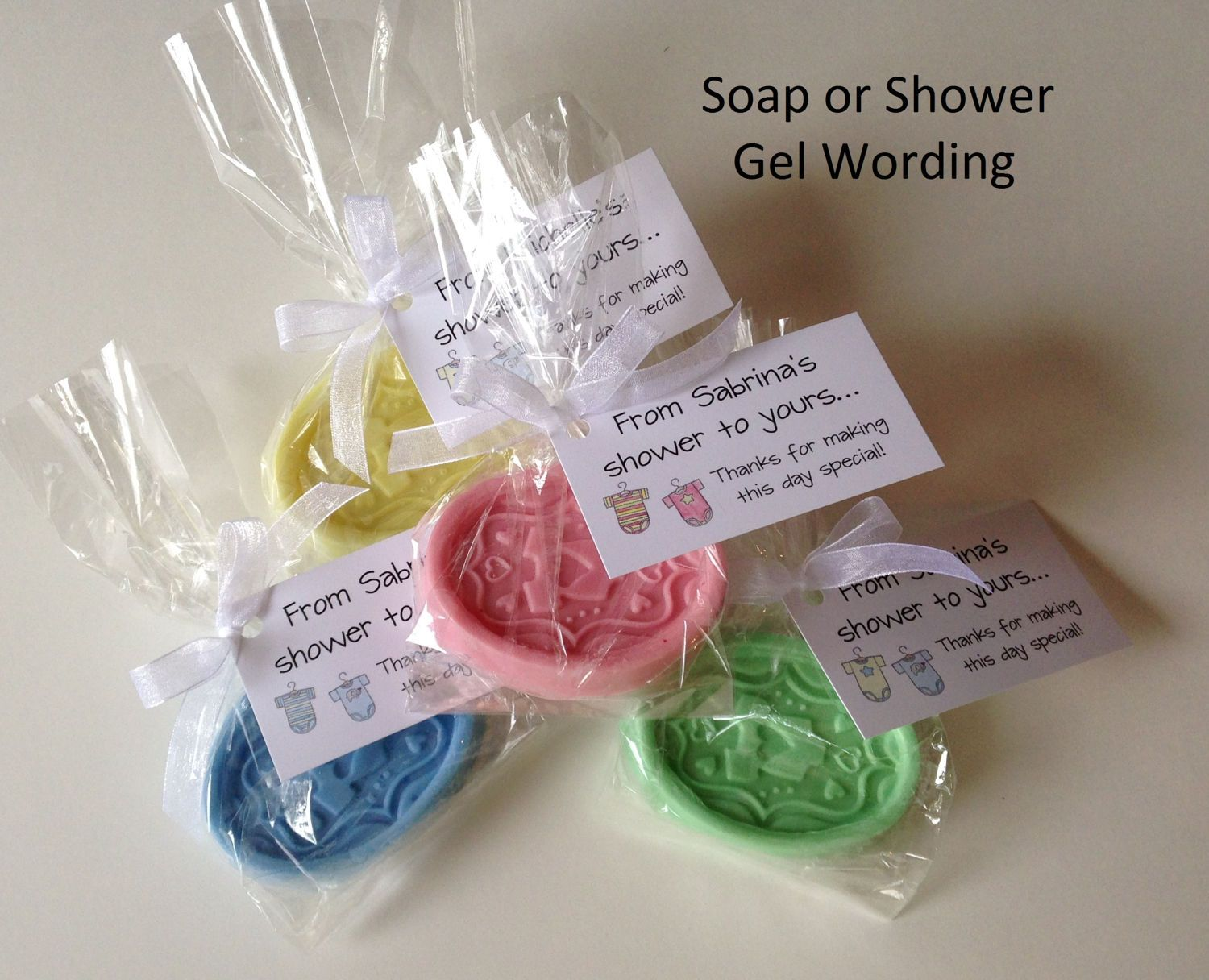 Baby Shower Favor Tags For Gift Bags And Party Favors   For Lollipops,  Bubble Gum