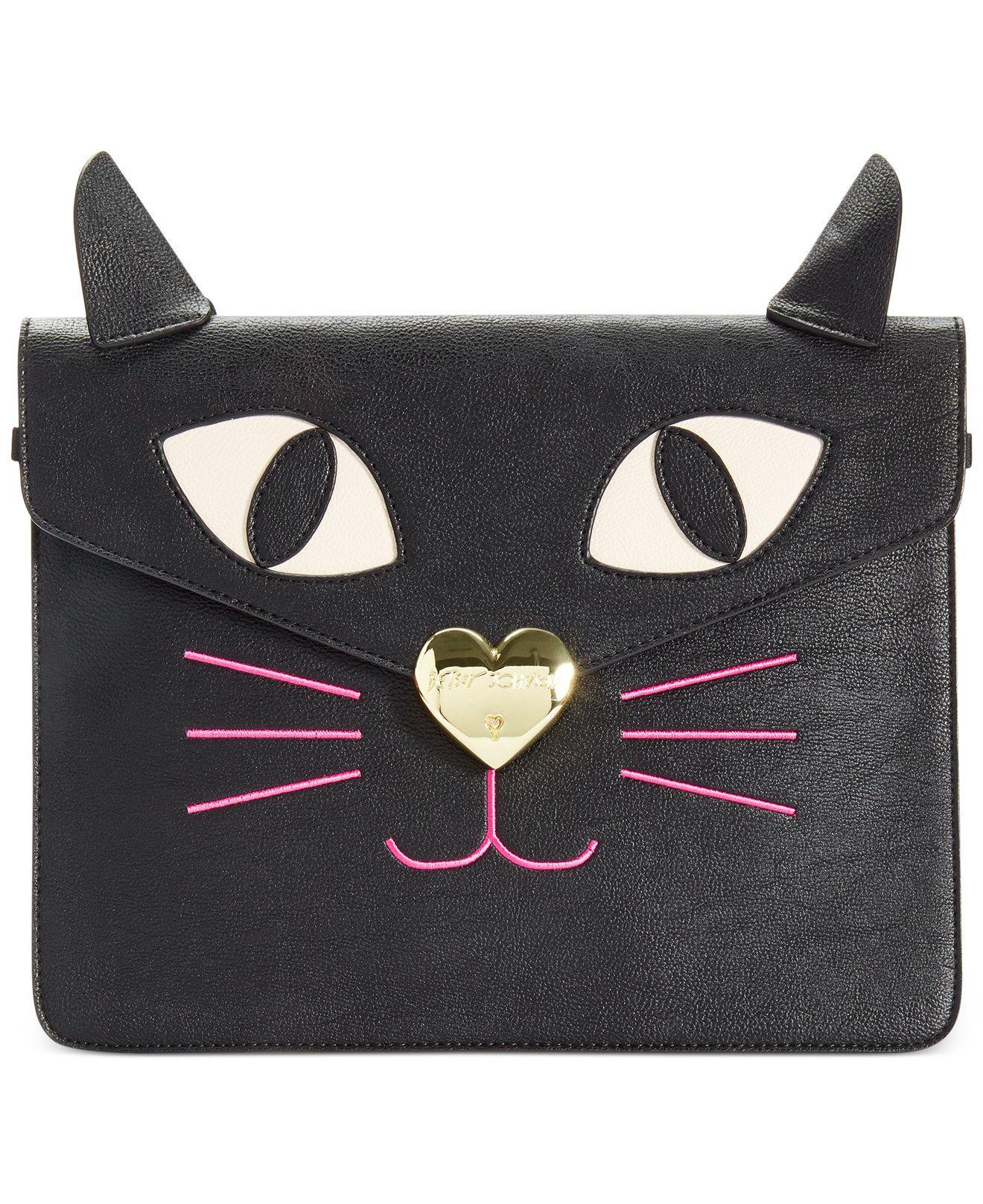 Betsey Johnson Kitchi Cat Clutch - All Handbags - Handbags & Accessories - Macy's
