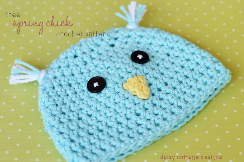 Spring Chick Hat « The Yarn Box The Yarn Box | Spring and Easter ...