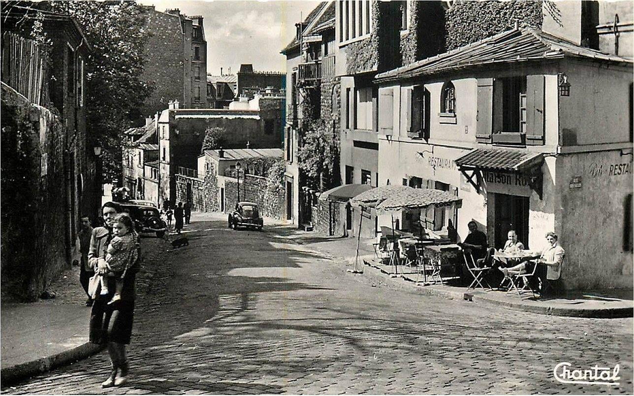 Paris 1960, beau cliché de la vie de tous les jours à