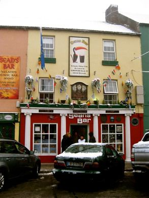 The oldest pub in Ireland may also be the oldest surviviing bar in the entire world