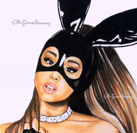 Pin On Ariana Grande Drawings