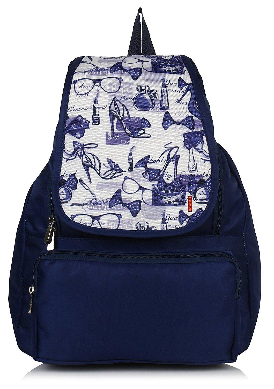 26b30bd5b109 Bag-Age Women s Backpack Handbag(Blue