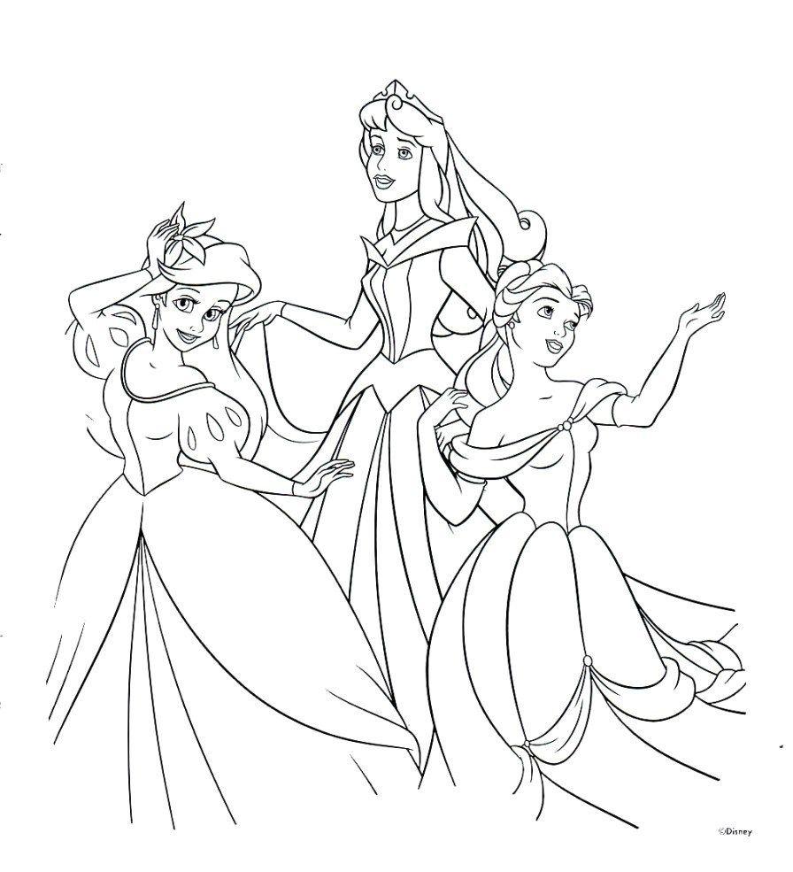 Disney Princess Coloring Page Disney Princesses Coloring Pages Princess Free Thanhhoacar Birijus Com Princess Coloring Pages Disney Princess Colors Disney Princess Coloring Pages