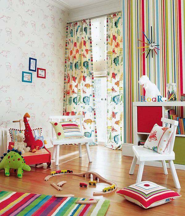 cuarto infantil multicolor