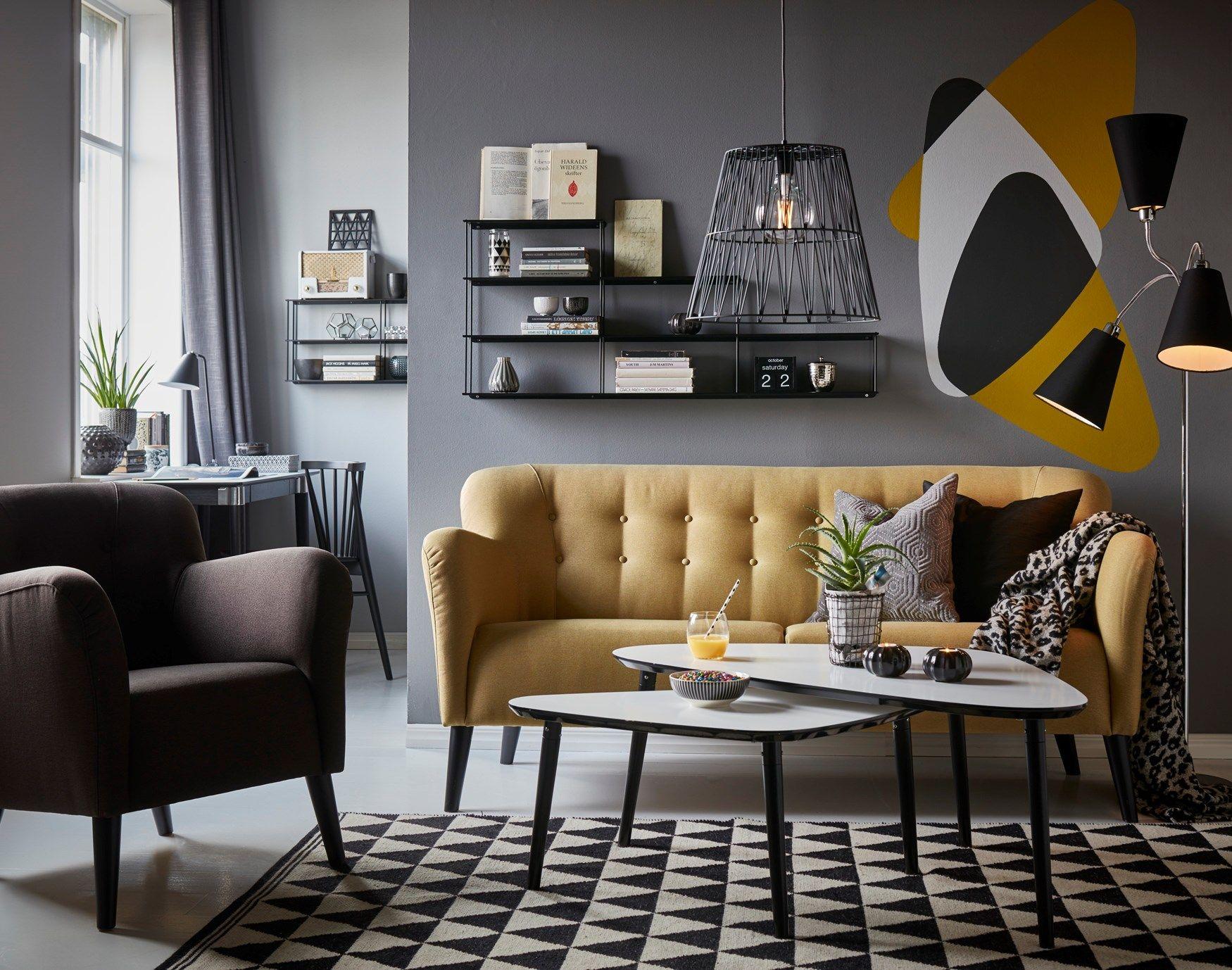 Boggie soffa från Mio Vardagsrum Vardagsrum inspiration, Vardagsrum och Soffbord