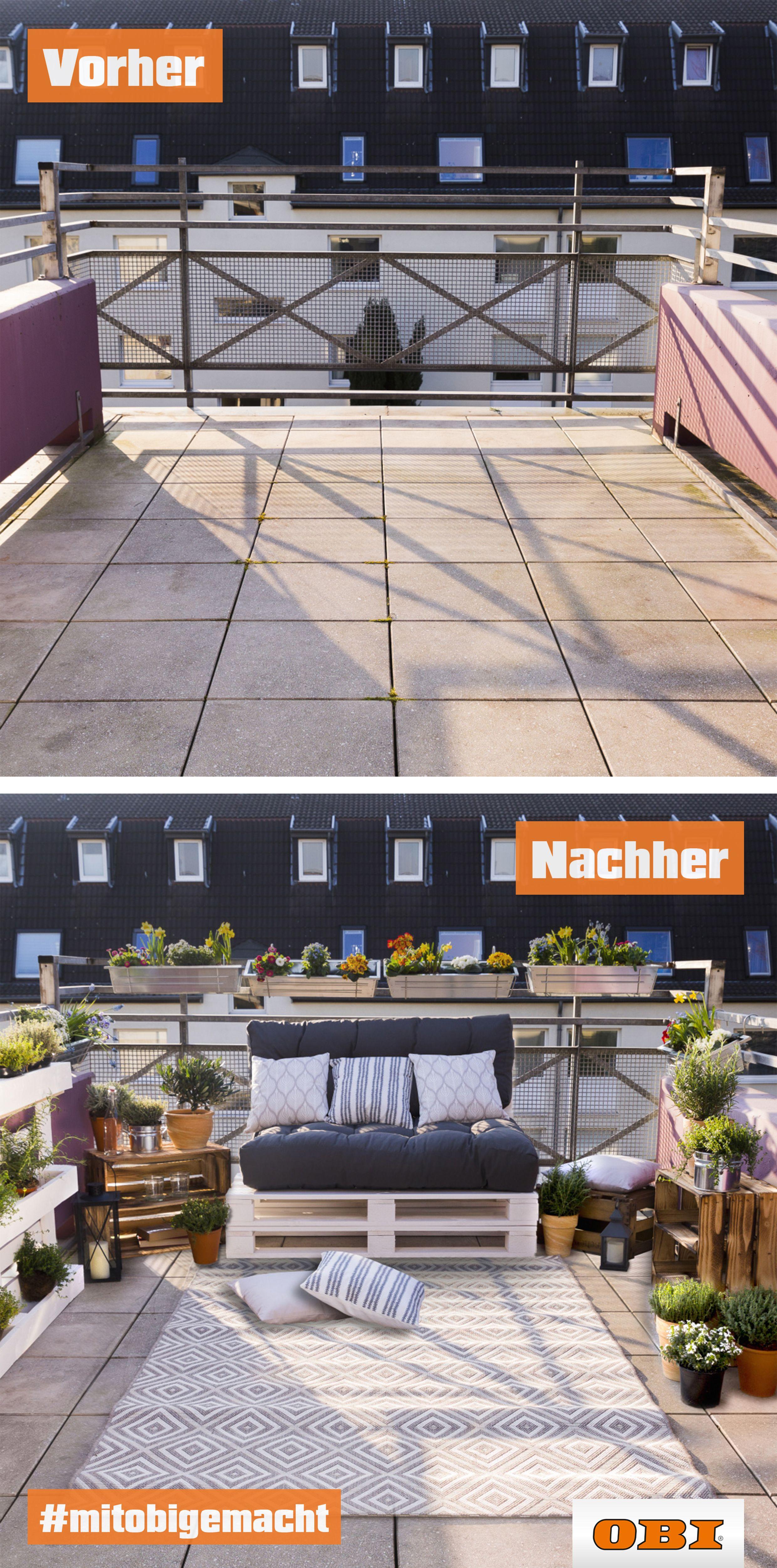 Balkon neu gestalten – Tipps zur Verschönerung   OBI   Balkon ...