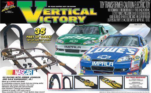 Slot Car Vehicle Race Sets Life Like Vertical Victory Electric Set Nascar For More Information Visit Image Link