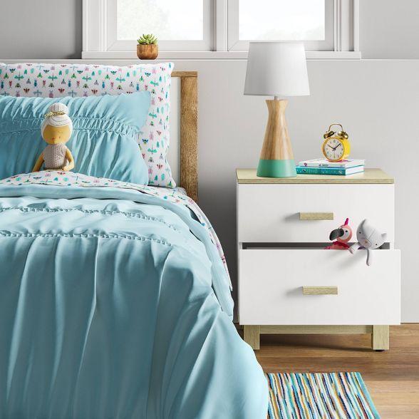Robinson Kids 2 Drawer Nightstand White - Pillowfort