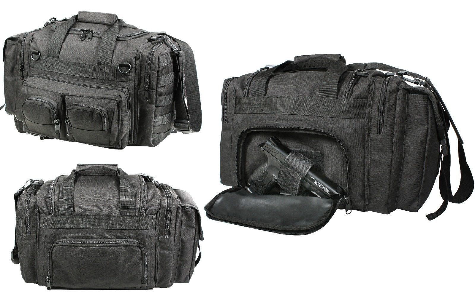 Photo of Black Concealed Carry Bag – Law Enforcement Security Tactical MOLLE Gear Bags