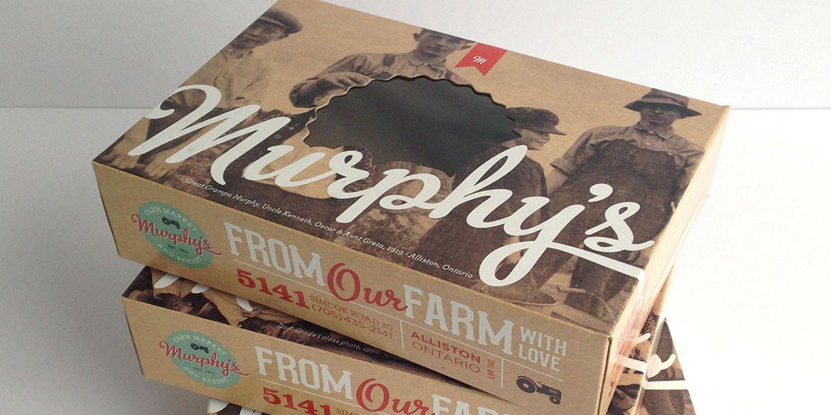 Murphy's Farm Market — The Dieline - Branding & Packaging