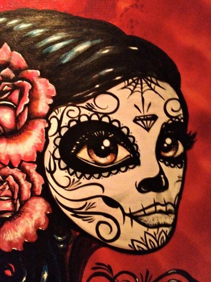 art by Lalo Cota and Angel Diaz Art, Mexican folk art