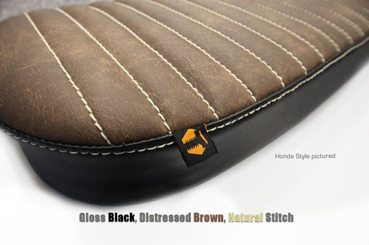 cafe racer seat - google search   custom brown motorcycle seats