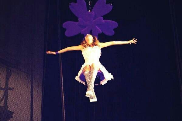 Violetta's concert in Barcelona