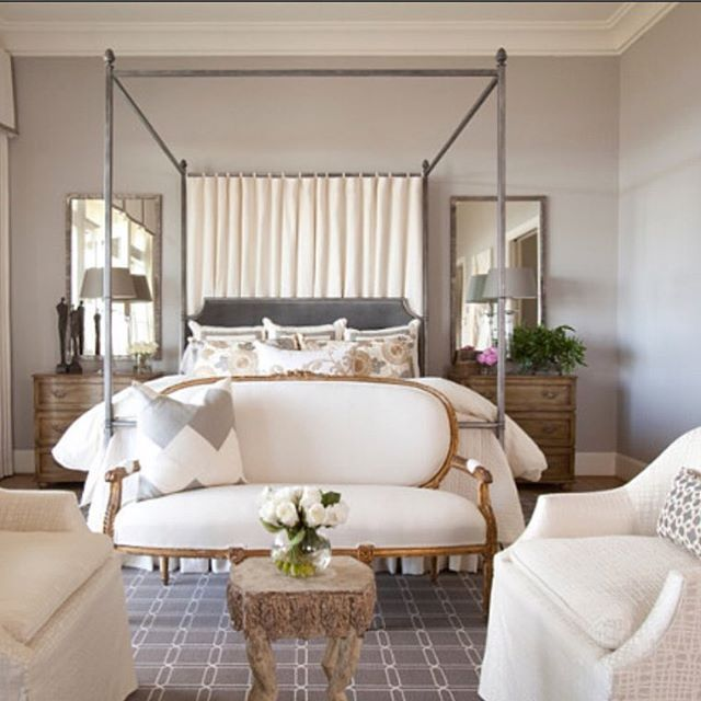 Sherwin Williams Pewter Cast Sw 7673 Transitional Bedroom