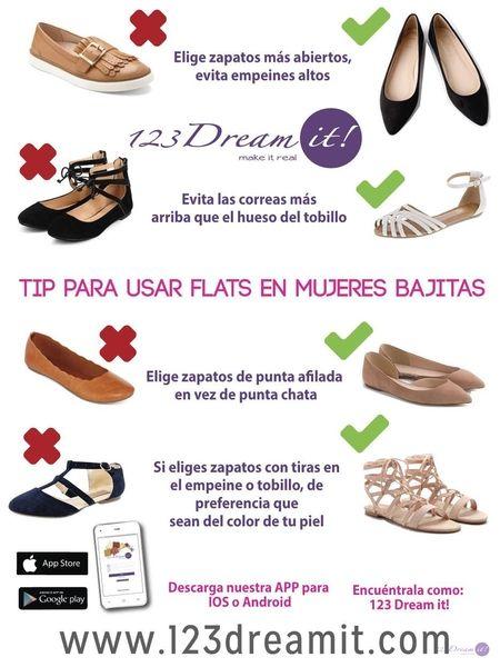 Photo of Tip para usar flats en mujeres bajitas