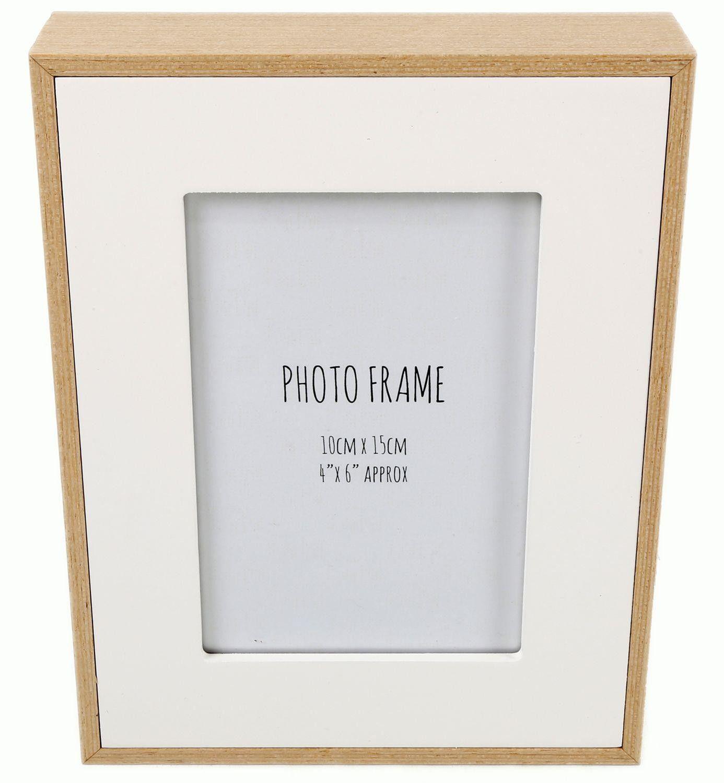 White Wood Edge Photo Frame 4 X 6 Frame White Wood Photo On Wood