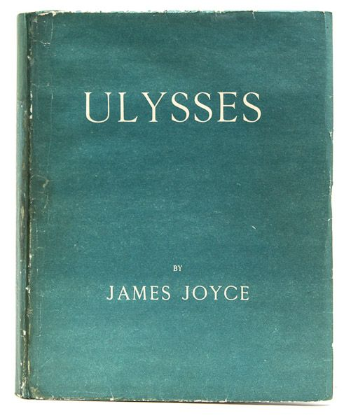 """James Joyce - """"Ulysses"""", Virgil Thomsons Copy, First Edition. This and more important books for sale on CuratorsEye.com"""