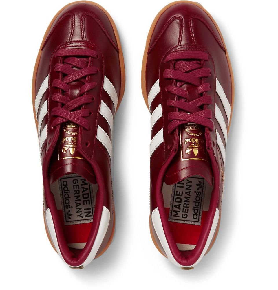 best service 918e7 fa5ac adidas Originals - Hamburg Leather Sneakers.
