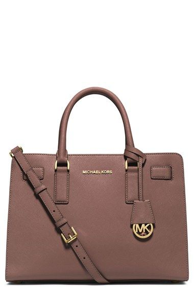 Michael Kors Dillon Leather Satchel Available At Nordstrom