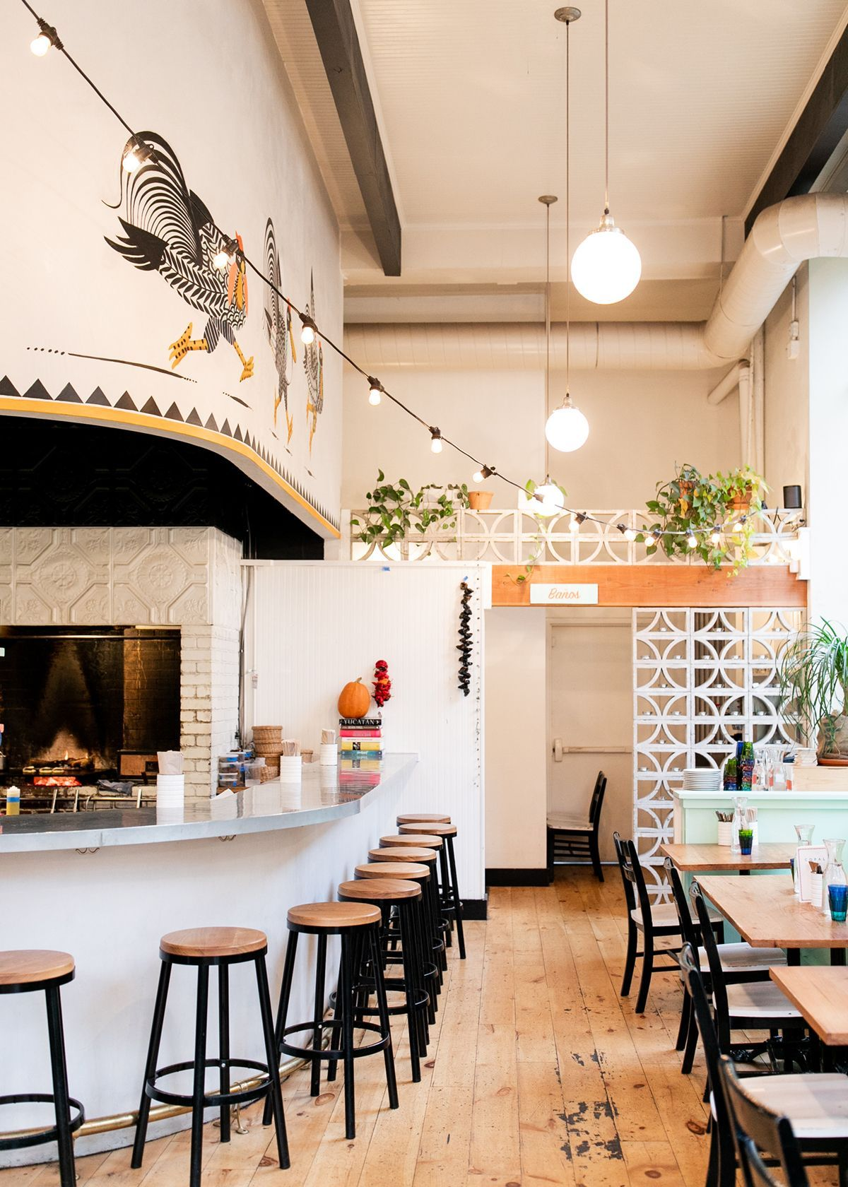 Seattle Neighborhood Guide Exploring Pioneer Square With Rothy S Coco Kelley Mexican Restaurant Decor Mexican Restaurant Design Restaurant Decor