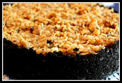 Sweet Tea and Cornbread: German Chocolate Cheesecake! #germanchocolatecheesecake
