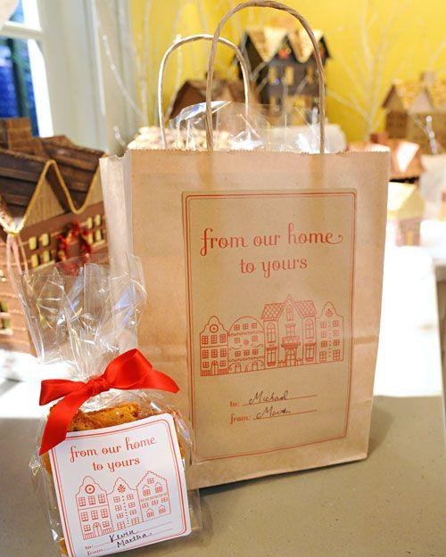 Gingerbread House Packaging Digital  Paper Pinterest