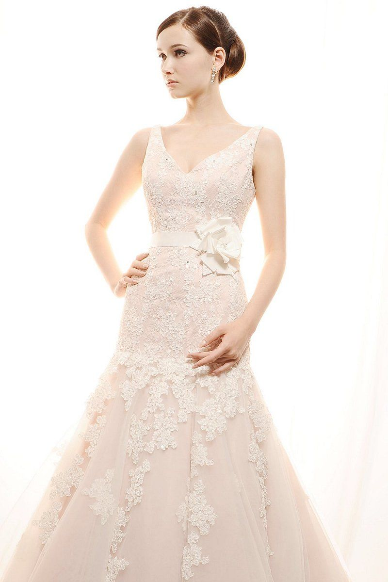 Lace and tulle wedding pinterest wedding dress corsage and