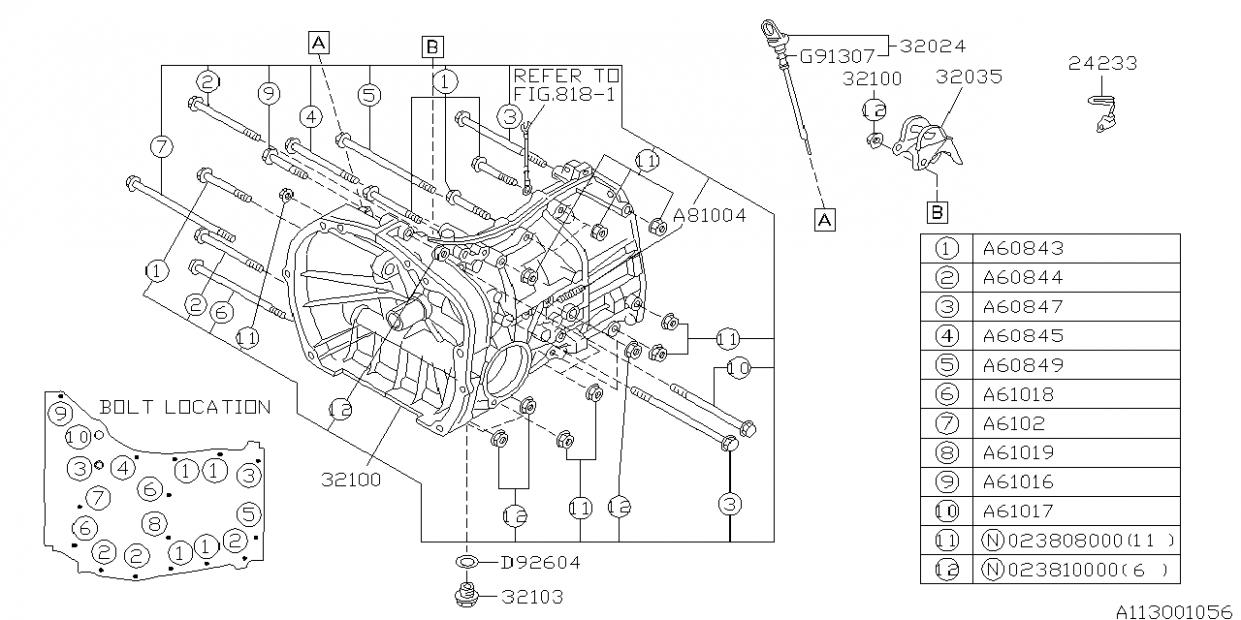 subaru impreza engine parts diagram di 2020  pinterest