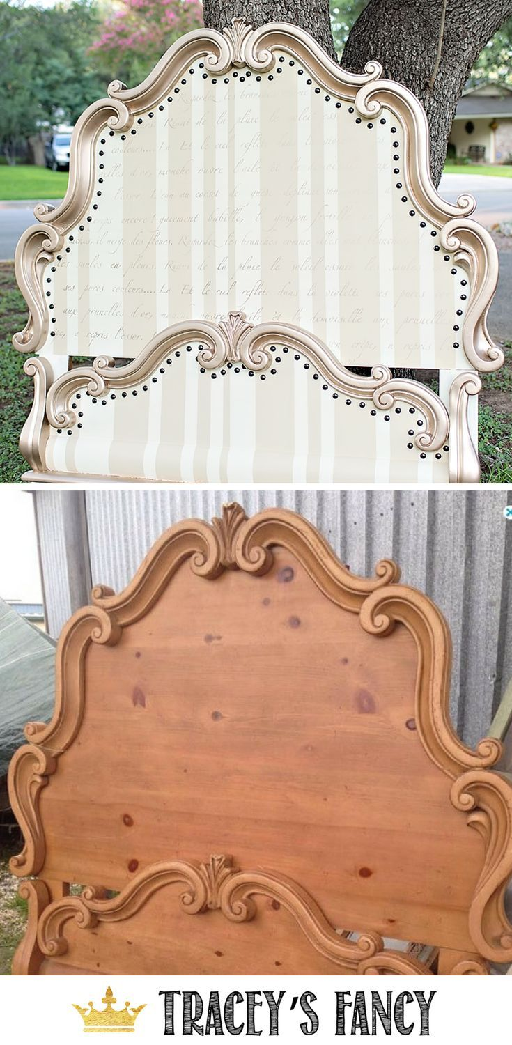 My Most-Requested Painted Whimsical Headboard | Tracey's Fancy